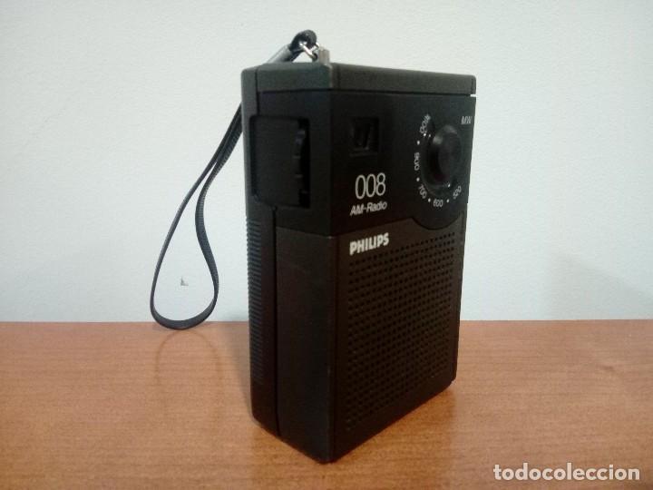 Radios antiguas: Radio transistor Philips 008 - Foto 4 - 108064127