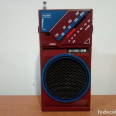 Radios antiguas: RADIO TRANSISTOR INTERNATIONAL D28H. Lote 108079755