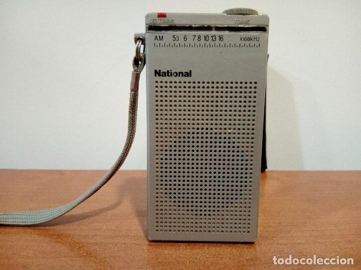 MINI RADIO TRANSISTOR NATIONAL R166 (Radios, Gramófonos, Grabadoras y Otros - Transistores, Pick-ups y Otros)