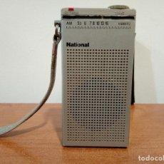 Radios antiguas: MINI RADIO TRANSISTOR NATIONAL R166. Lote 108294563