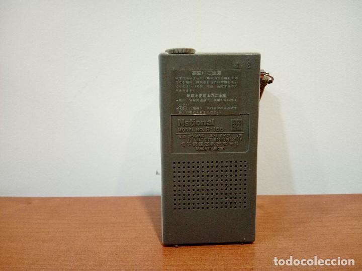 Radios antiguas: Mini radio transistor National R166 - Foto 3 - 108294563