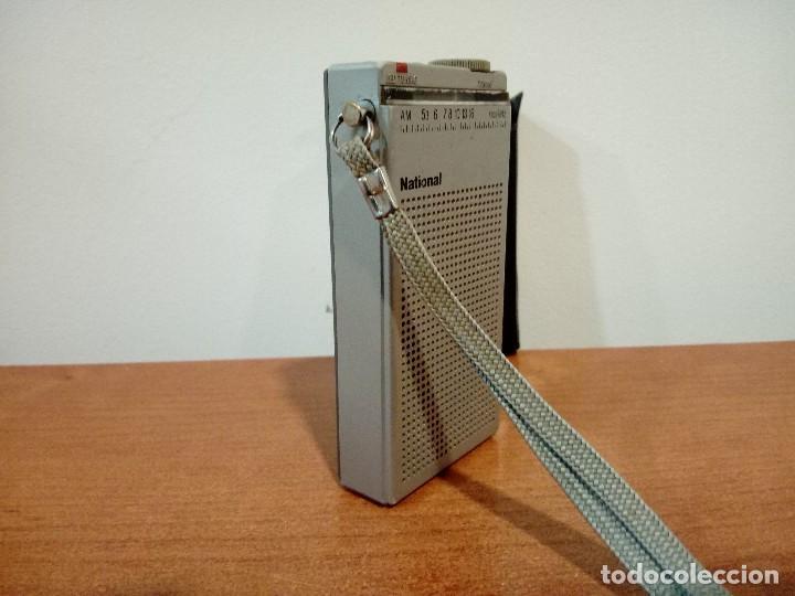 Radios antiguas: Mini radio transistor National R166 - Foto 4 - 108294563