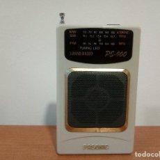Radios antiguas: 35-RADIO TRANSISTOR PASONIC PS 900. Lote 108324523