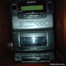 Radios antiguas: MINI CADENA AIWA. Lote 108760931
