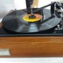Radios antiguas: VER VIDEOS!!!!TOCADISCOS+AMP. ZENITH SOLID STATE MODELO E-543.FABRICADO EN ESPAÑA-AÑOS 60S.. Lote 108884795