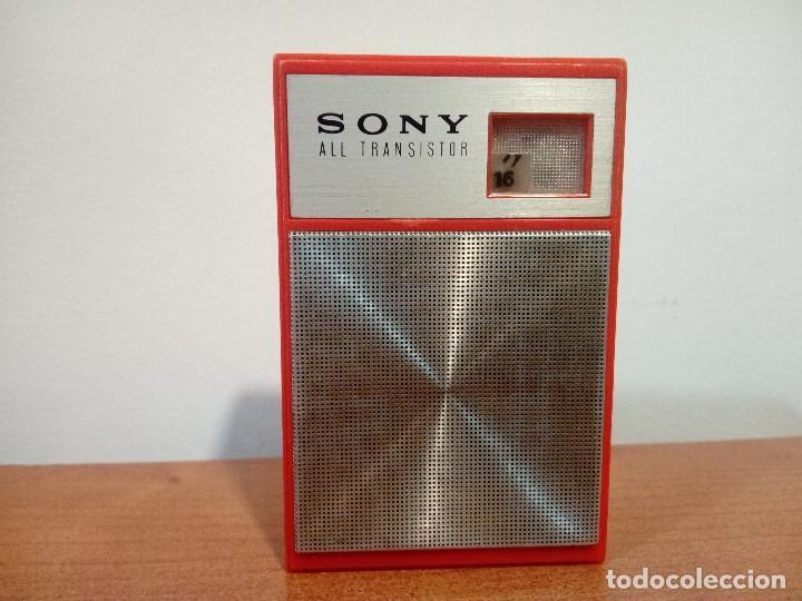 RADIO TRANSISTOR SONY 2R 28 (Radios, Gramófonos, Grabadoras y Otros - Transistores, Pick-ups y Otros)