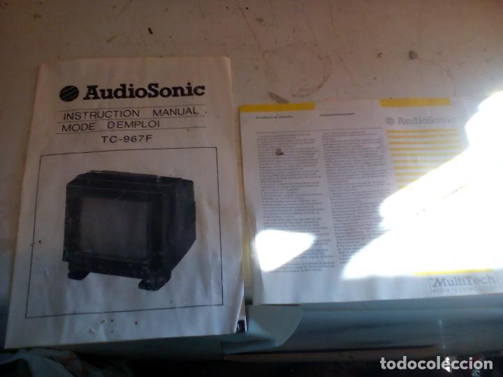Radios antiguas: televisor portatil de 12v, nuevo - Foto 5 - 109114811