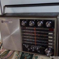 Radios antiguas - RADIO TRANSISTOR MULTIBANDA SILVER VOYAGER SUPER JAPON 1972 FUNCIONANDO - 109331491
