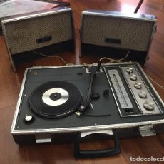 Radios antiguas: RADIO TOCADISCOS SG760F NATIONAL. Lote 109541639