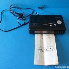 Radios antiguas: RADIO DESPERTADOR - UNITED - AM/FM CLOCK RADIO. Lote 109550443
