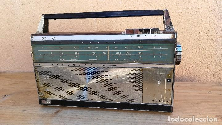 RADIO TRANSISTOR MARCA VANGUARD MODELO RELAY NO FUNCIONA, NECESITA LIMPIEZA (Radios, Gramófonos, Grabadoras y Otros - Transistores, Pick-ups y Otros)