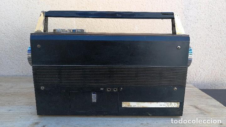 Radios antiguas: RADIO TRANSISTOR MARCA VANGUARD MODELO RELAY NO FUNCIONA, NECESITA LIMPIEZA - Foto 5 - 110043571
