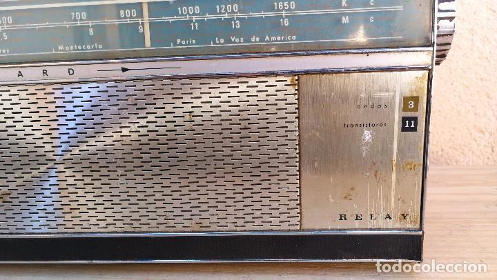 Radios antiguas: RADIO TRANSISTOR MARCA VANGUARD MODELO RELAY NO FUNCIONA, NECESITA LIMPIEZA - Foto 11 - 110043571