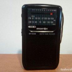 Radios antiguas: 97-RADIO DE MANO BRIGMTON BT-338. Lote 110139095