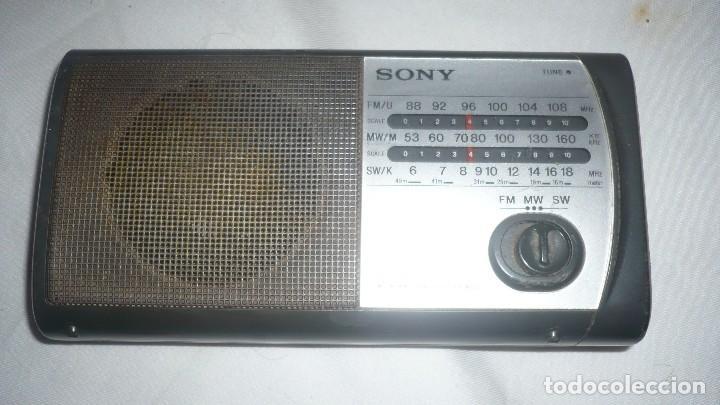 RADIO SONY 3 BANDAS ICF-403F (PARA REPARAR) (Radios, Gramófonos, Grabadoras y Otros - Transistores, Pick-ups y Otros)