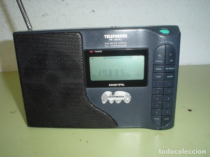RADIO MULTIBANDAS TELEFUNKEN MR-1500 PLL (Radios, Gramófonos, Grabadoras y Otros - Transistores, Pick-ups y Otros)