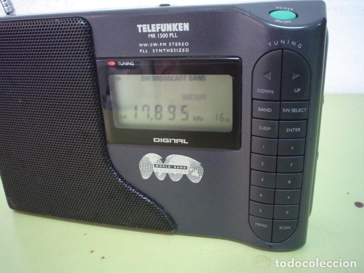 Radios antiguas: RADIO MULTIBANDAS TELEFUNKEN MR-1500 PLL - Foto 2 - 110411803