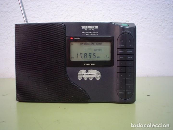 Radios antiguas: RADIO MULTIBANDAS TELEFUNKEN MR-1500 PLL - Foto 3 - 110411803
