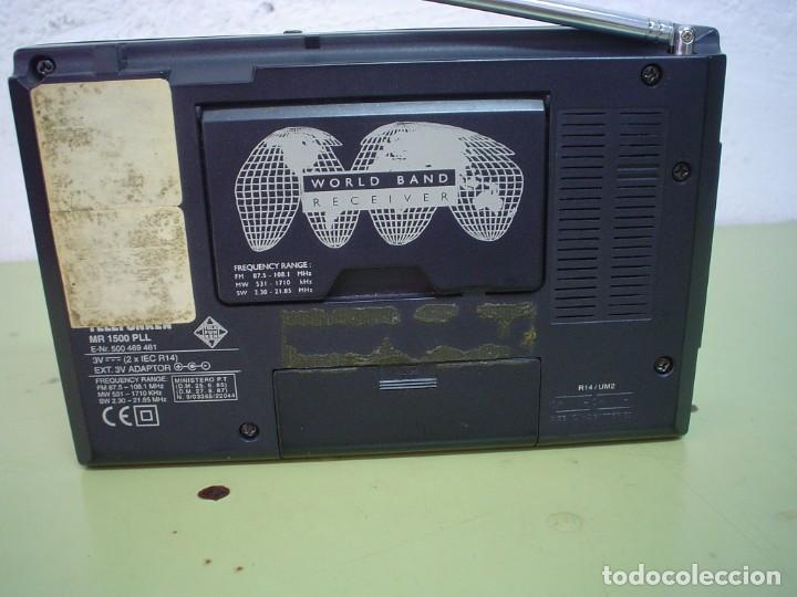 Radios antiguas: RADIO MULTIBANDAS TELEFUNKEN MR-1500 PLL - Foto 4 - 110411803