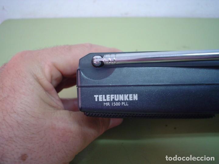 Radios antiguas: RADIO MULTIBANDAS TELEFUNKEN MR-1500 PLL - Foto 7 - 110411803
