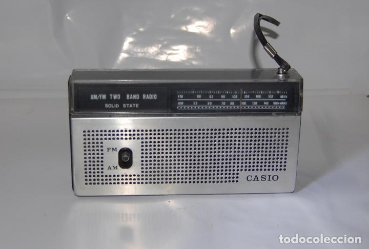 RADIO TRANSISTOR CASIO VINTAGE RETRO (Radios, Gramófonos, Grabadoras y Otros - Transistores, Pick-ups y Otros)