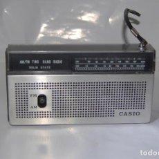Radios antiguas: RADIO TRANSISTOR CASIO VINTAGE RETRO. Lote 110419435