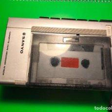 Radios antiguas: REPRODUCTOR DE CASSETTE SANYO Y GRABADORA CASSETTE TAPE RECORDER M1002. Lote 110430487