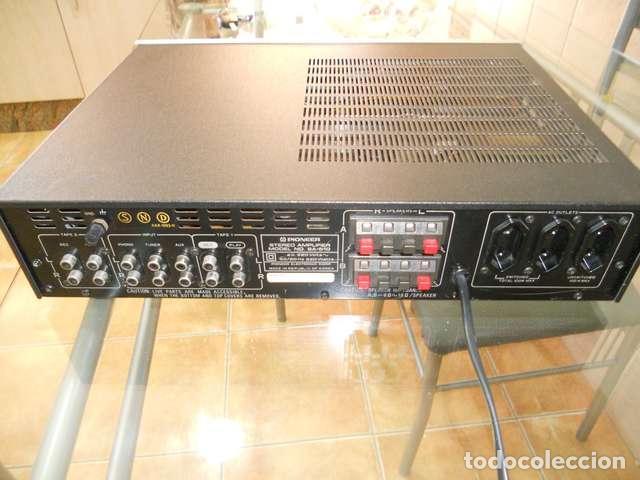 Radios antiguas: AMPLIFICADOR PIONEER SA-510 PEPETO RECORDS & PDELUXE ELECTRONICA VER FOTOS Y VIDEO - Foto 3 - 110445335