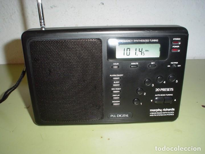 RADIO MULTIBANDAS MORPHY RICHARDS R191 (Radios, Gramófonos, Grabadoras y Otros - Transistores, Pick-ups y Otros)