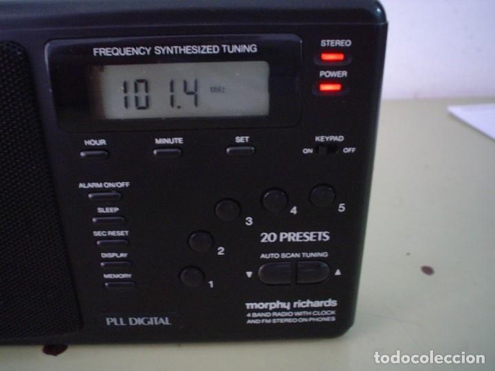 Radios antiguas: RADIO MULTIBANDAS MORPHY RICHARDS R191 - Foto 4 - 110587675