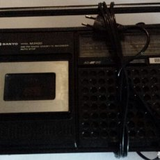 Radios antiguas: RADIO CASET SANYO. Lote 110799820