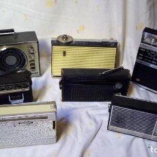 Radios antiguas: LOTE 7 RADIOS TRANSISTOR. Lote 110810823