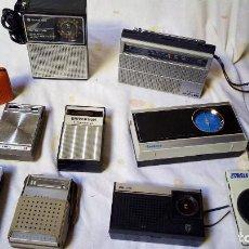 Radios antiguas: LOTE 10 MINI TRANSISTORES. Lote 110813063