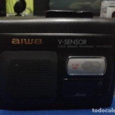 Old radios - AIWA WALKMAN GRABADOR ( V- SENSOR ) TP- VS470 FUNCIONA BIEN - 110839155