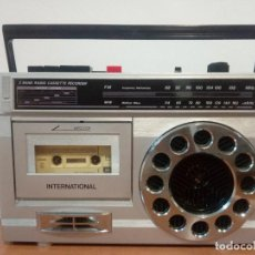 Radios antiguas: RADIO CASSETTE INTERNATIONAL SW2120. Lote 136347574