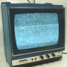Radios antiguas: ANTIGUA TELEVISION PORTATIL - INTER 9 PULGADAS GL- ¡¡¡FUNCIONANDO¡¡¡¡ TV 35 TRANSISTORES 2. Lote 111632475