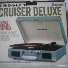 Radios antiguas: TOCADISCOS CROSLEY. Lote 111701819