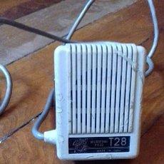 Radios antiguas: MICRÓFONO GELOSO T28. Lote 111704900