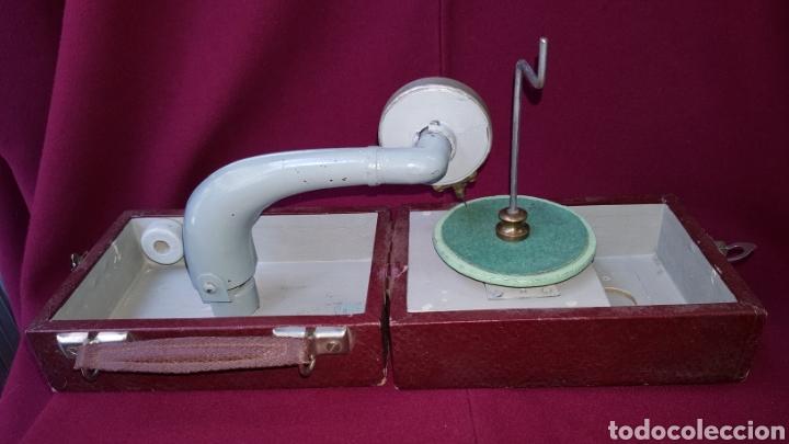 Radios antiguas: TOCADISCOS MANUAL - Foto 6 - 111772446