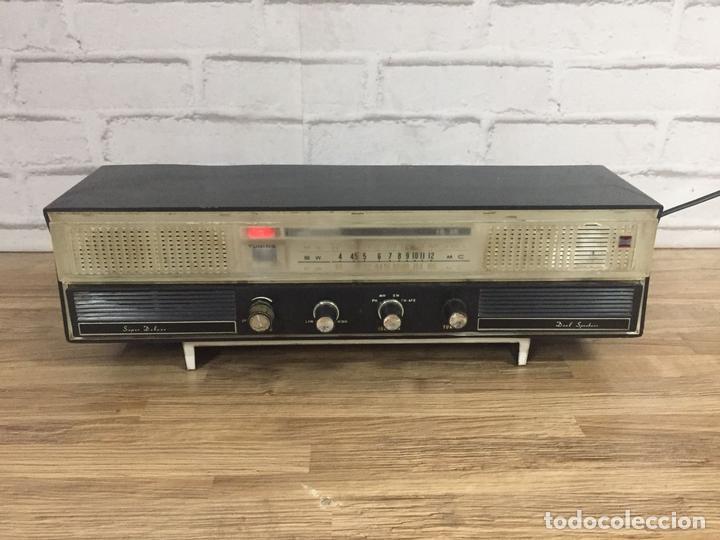 RADIO TRANSISTOR ONKYO DUAL SPEAKER JAPÓN AÑOS 60 (Radios, Gramófonos, Grabadoras y Otros - Transistores, Pick-ups y Otros)
