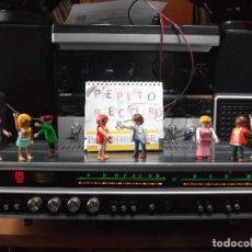 Radios antiguas: ANTIGUO APARATO VINTAGE SIN MARCA ? AMPLIFICADOR + RADIO FM-AM / SALIDAS AUXILIAR TOCADISCOS Y CASS. Lote 111954315