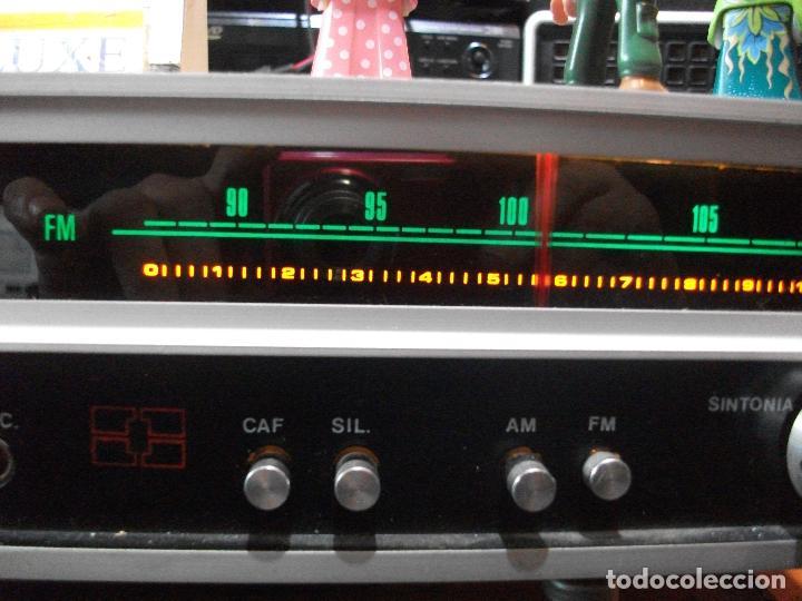 Radios antiguas: ANTIGUO APARATO VINTAGE SIN MARCA ? AMPLIFICADOR + RADIO FM-AM / SALIDAS AUXILIAR TOCADISCOS Y CASS - Foto 5 - 111954315