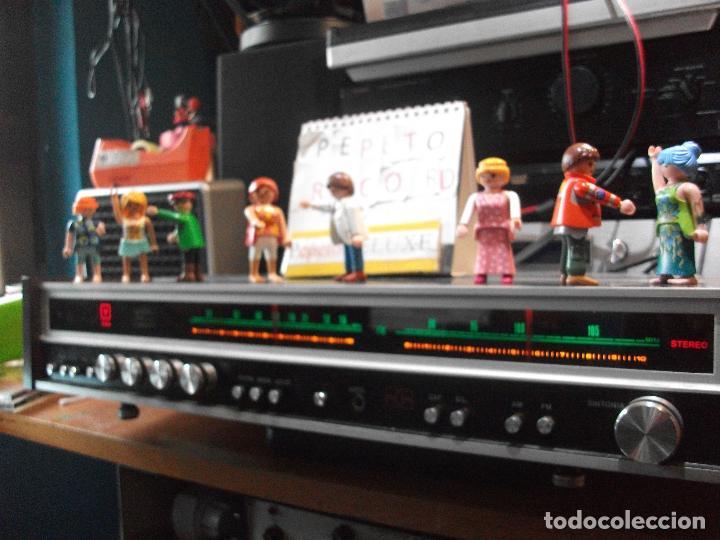 Radios antiguas: ANTIGUO APARATO VINTAGE SIN MARCA ? AMPLIFICADOR + RADIO FM-AM / SALIDAS AUXILIAR TOCADISCOS Y CASS - Foto 7 - 111954315