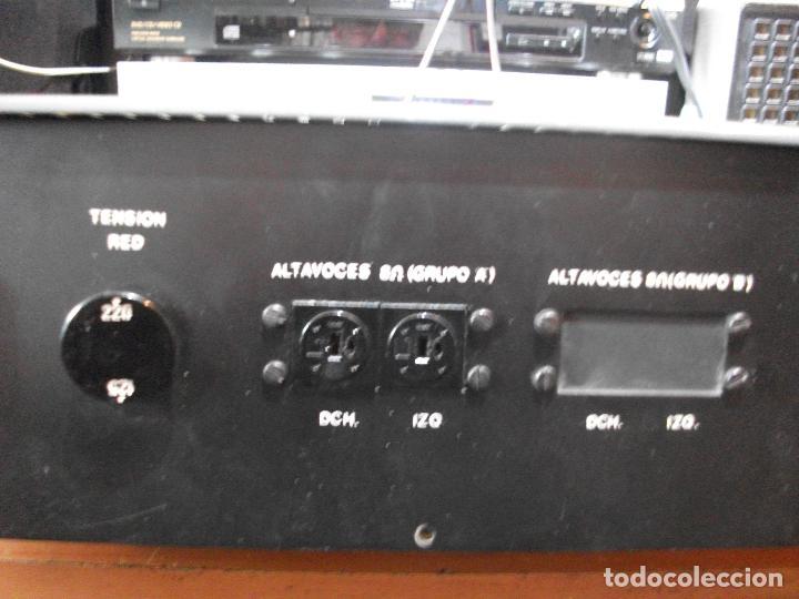 Radios antiguas: ANTIGUO APARATO VINTAGE SIN MARCA ? AMPLIFICADOR + RADIO FM-AM / SALIDAS AUXILIAR TOCADISCOS Y CASS - Foto 13 - 111954315
