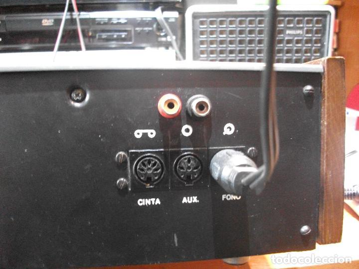 Radios antiguas: ANTIGUO APARATO VINTAGE SIN MARCA ? AMPLIFICADOR + RADIO FM-AM / SALIDAS AUXILIAR TOCADISCOS Y CASS - Foto 14 - 111954315