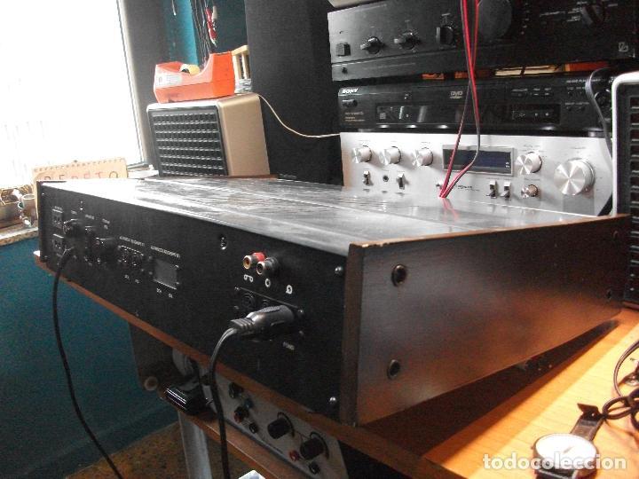 Radios antiguas: ANTIGUO APARATO VINTAGE SIN MARCA ? AMPLIFICADOR + RADIO FM-AM / SALIDAS AUXILIAR TOCADISCOS Y CASS - Foto 15 - 111954315