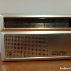 Radios antiguas: RADIO TRANSISTOR DE MANO GRUNDING MINI BOY 400. Lote 112005427