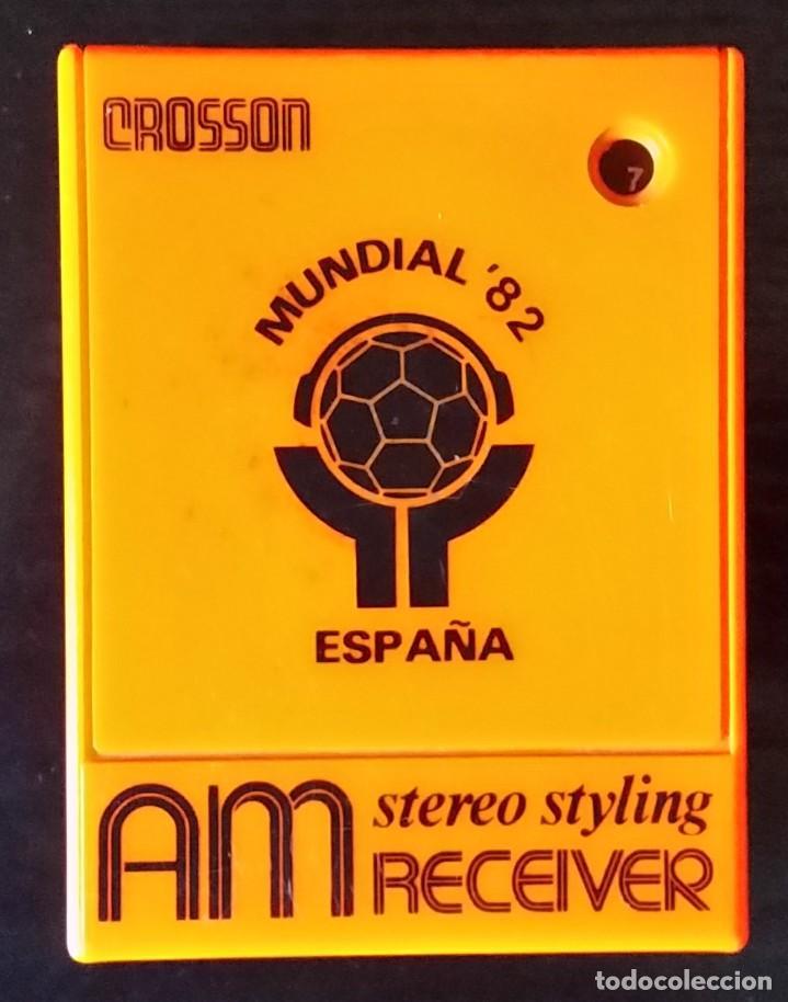 TRANSISTOR MUNDIAL ESPAÑA 82 (Radios, Gramófonos, Grabadoras y Otros - Transistores, Pick-ups y Otros)