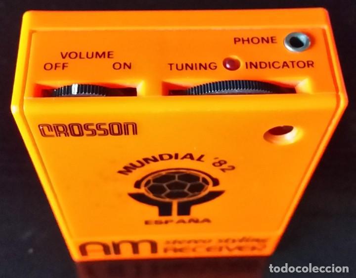 Radios antiguas: TRANSISTOR MUNDIAL ESPAÑA 82 - Foto 2 - 112062223