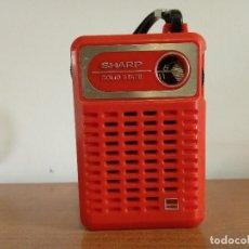 Radios antiguas: RADIO TRANSISTOR SHARP SOLID STATE. Lote 112197255